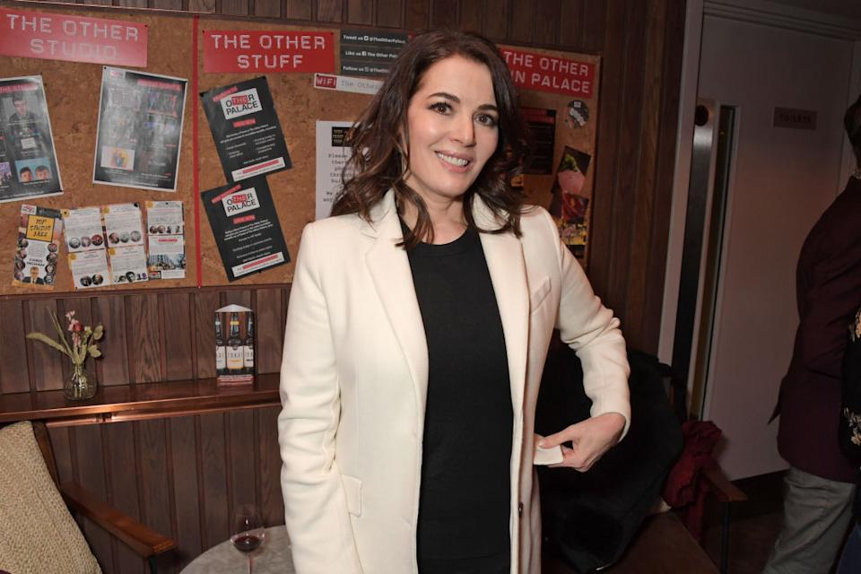 Nigella Lawson has shared the most brilliant throwback picture for the 'when I was 20' challenge (Getty Images)