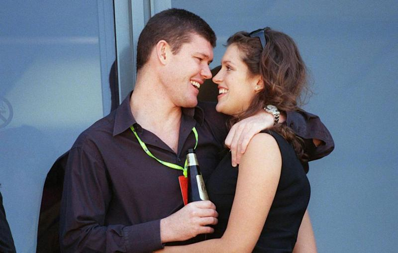 Kate dated James Packer between 1993 and 1998. Source: Getty