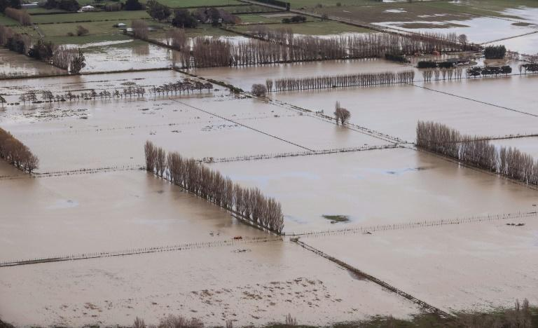 Entire communities, including 35,000 people in the town of Ashburton, were left isolated by the floodwaters