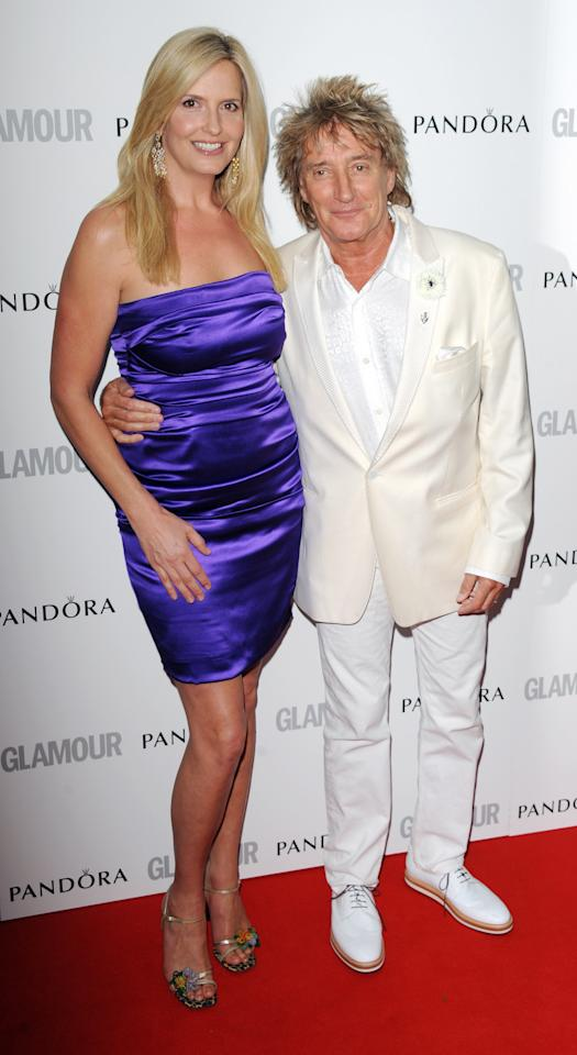 LONDON, UNITED KINGDOM - MAY 29: Penny Lancaster and Rod Stewart attend Glamour Women of the Year Awards 2012 at Berkeley Square Gardens on May 29, 2012 in London, England. (Photo by Stuart Wilson/Getty Images)