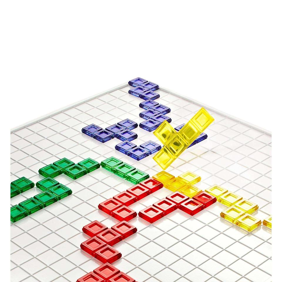 """<p><strong>Blokus</strong></p><p>walmart.com</p><p><strong>$19.97</strong></p><p><a href=""""https://go.redirectingat.com?id=74968X1596630&url=https%3A%2F%2Fwww.walmart.com%2Fip%2F32638276&sref=https%3A%2F%2Fwww.goodhousekeeping.com%2Fchildrens-products%2Ftoy-reviews%2Fg29413969%2Fbest-toys-gifts-for-7-year-old-boys%2F"""" rel=""""nofollow noopener"""" target=""""_blank"""" data-ylk=""""slk:Shop Now"""" class=""""link rapid-noclick-resp"""">Shop Now</a></p><p>In order to play this game, the players take turns putting their 21 pieces on the board. Your 7-year-old will <strong>try to make all of their game pieces fit strategically</strong> while also blocking his opponent's. Another game that's perfect for family game nights! <em>Ages 7+</em><br></p>"""