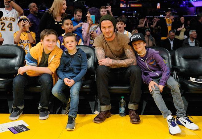 David Beckham Dishes on His Sons' Style: 'Romeo Is The Fashion One'