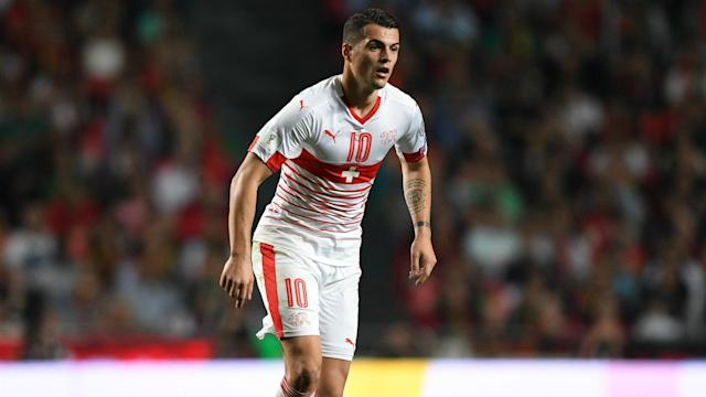 Granit Xhaka has been passed fit for Switzerland's final World Cup squad, which is dominated by players from the Bundesliga.