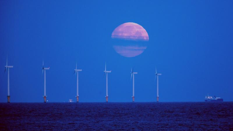 Greenhouse gases fall as renewables rise to record highs – figures