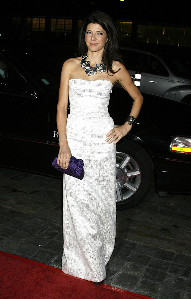 """<a href=""""http://movies.yahoo.com/movie/contributor/1800024659"""">Marisa Tomei</a> at the 61st Annual Directors Guild of America Awards in Los Angeles - 01/31/2009"""
