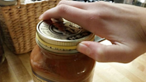 Can't open that jar? Wrap a rubber band around the lid for added grip.