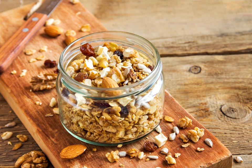 Upping your fibre intake can improve digestion and help you lose weight [Photo: Getty]