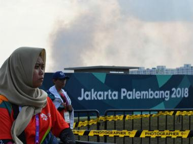 Asian Games 2018: Fire breaks out near Palembang Asiad venue; firefighters, helicopters help extinguish blaze