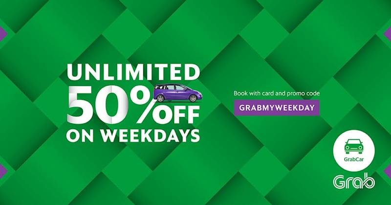 Use These Promo Codes On Grab To Make Your Ramadhan That