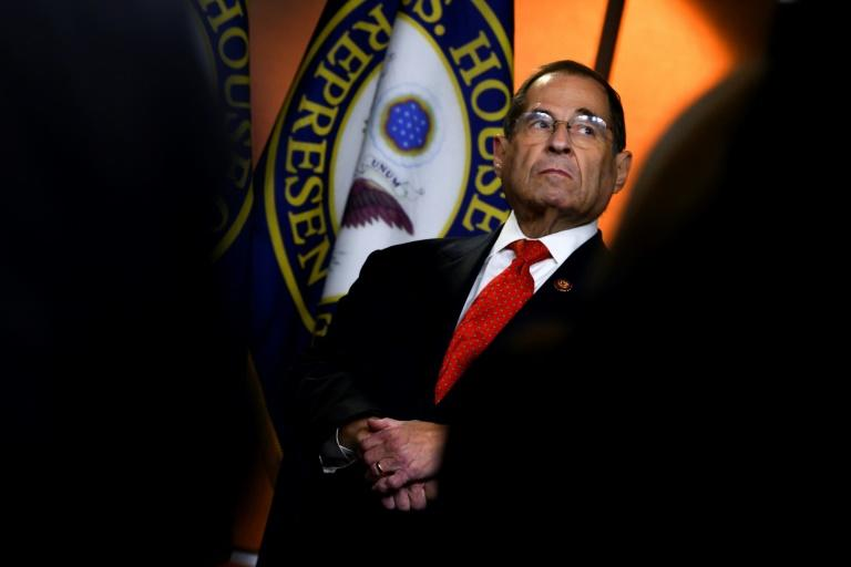 House Judiciary Committee chairman Jerry Nadler filed a court petition seeking access to secret evidence that special counsel Robert Mueller gathered during his probe of Russia election interference and possible cooperation with the Trump campaign (AFP Photo/ANDREW CABALLERO-REYNOLDS)
