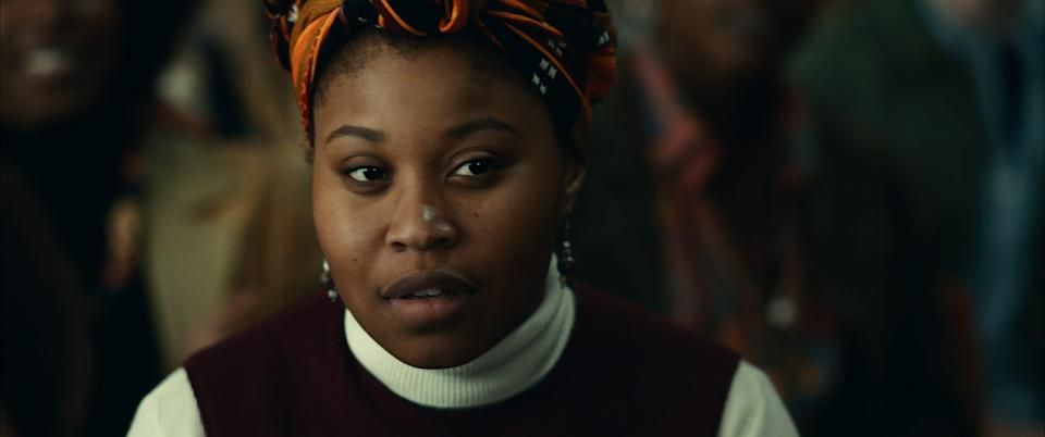 """Dominique Fishback is a standout in """"Judas and the Black Messiah."""""""