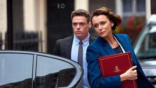 Richard Madden and Keeley Hawes starred in hit BBC drama Bodyguard last year (Credit: BBC)