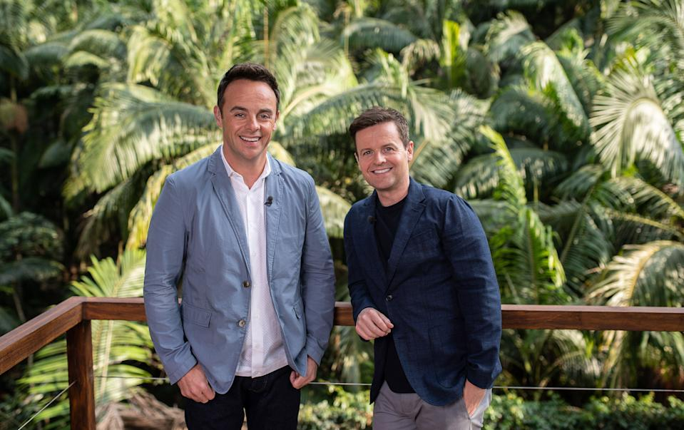 Ant & Dec - I'm A Celebrity: A Jungle Story (ITV)