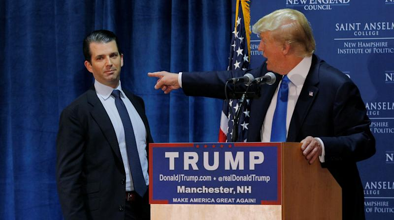 Trump Jr. Took Russia Meeting To Get Info On Clinton's 'Fitness,' He Tells Senate