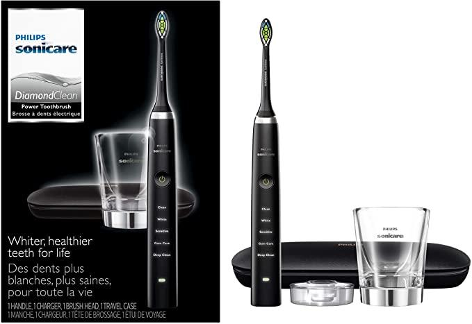 Save 33% on Philips Sonicare DiamondClean Classic Rechargeable Electric Toothbrush. Image via Amazon.