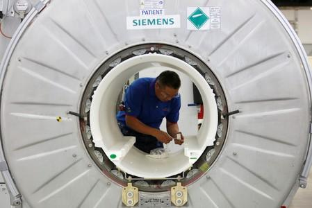 Germany's Siemens Healthineers to buy U.S. firm Corindus for $1.1 billion