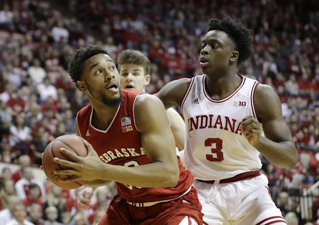 Indiana continues to alternate marquee wins and head-scratching losses (AP).