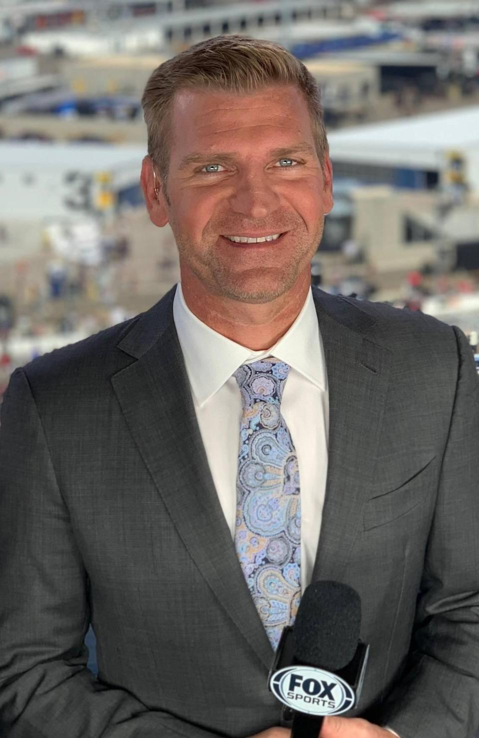Former driver Clint Bowyer joins the NASCAR on FOX broadcast booth in 2021 as a full-time analyst for the network's Cup Series coverage.
