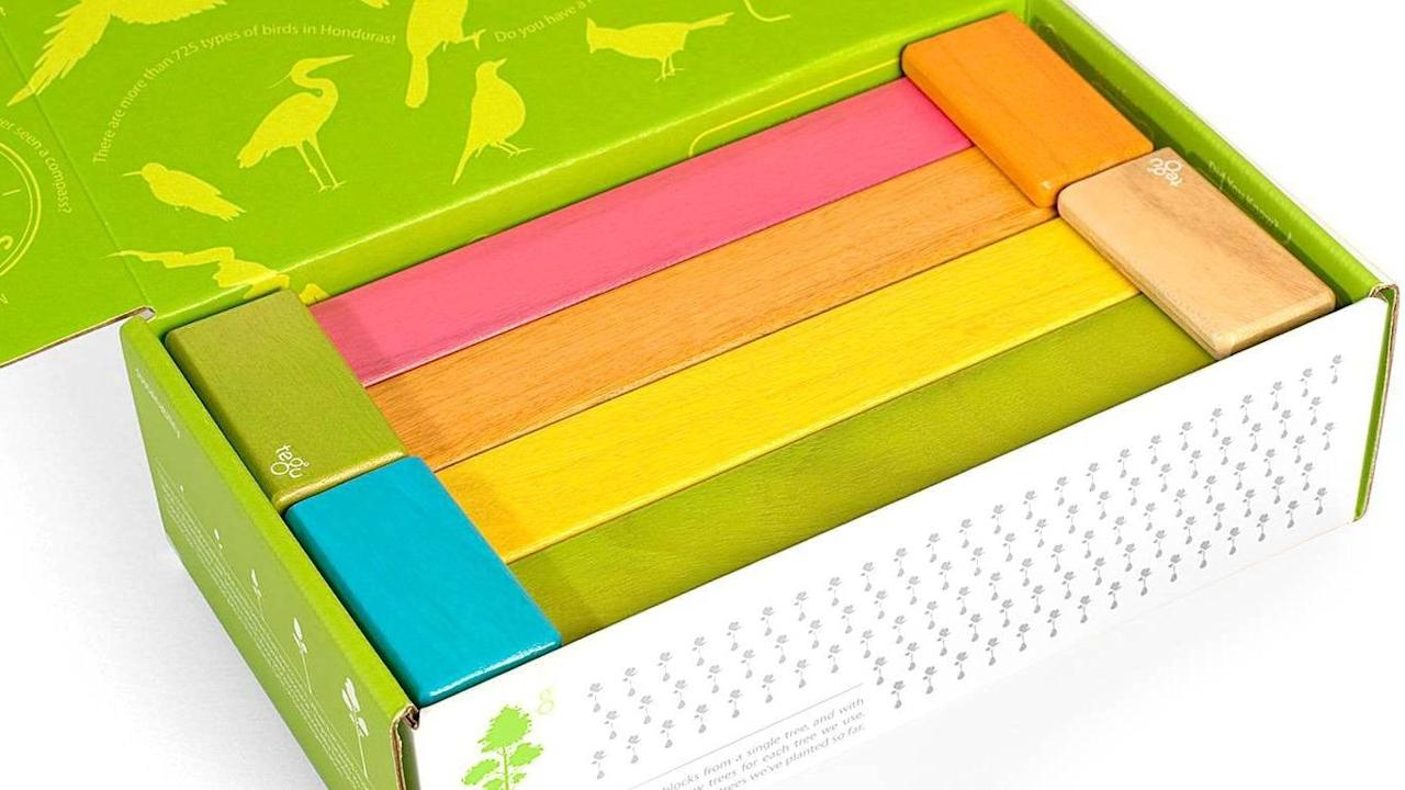 "<p>A purchase you can feel good about, Tegu Magnetic Blocks' 24-piece <a href=""https://www.popsugar.com/buy/Endeavor-Set-377752?p_name=Endeavor%20Set&retailer=amazon.com&pid=377752&price=64&evar1=moms%3Aus&evar9=46113255&evar98=https%3A%2F%2Fwww.popsugar.com%2Ffamily%2Fphoto-gallery%2F46113255%2Fimage%2F46113305%2FTegu-Magnetic-Blocks&list1=gift%20guide%2Ckid%20shopping&prop13=mobile&pdata=1"" rel=""nofollow"" data-shoppable-link=""1"" target=""_blank"" class=""ga-track"" data-ga-category=""Related"" data-ga-label=""https://www.amazon.com/Tegu-Piece-Magnetic-Wooden-Block/dp/B00FZE7WOI/ref=sr_1_5?ie=UTF8&amp;qid=1540843946&amp;sr=8-5&amp;keywords=Tegu+Magnetic+Blocks&amp;dpID=412j9oKvcpL&amp;preST=_SX300_QL70_&amp;dpSrc=srch"" data-ga-action=""In-Line Links"">Endeavor Set</a> ($64) is meant to withstand the test of time. Based in Honduras, the company's mission is to positively influence that country's economy while putting out an eco-friendly, beautifully constructed product. </p>"