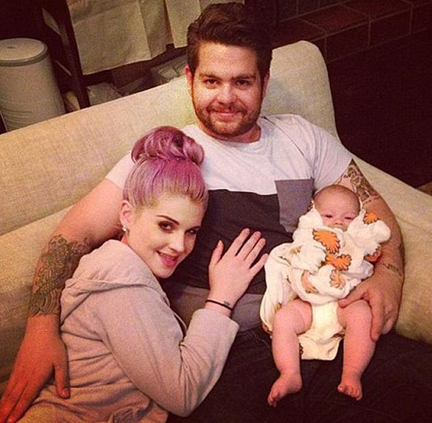 "Celebrity photos: The Osbourne family have had a tough week after it was announced that Jack Osbourne has multiple sclerosis. However, they stuck together with Kelly Osbourne tweeting this cute photo of her with Jack and his daughter Pearl. She posted it along with the caption: ""Best family night ever! Nothing like a hug from my little brother."""