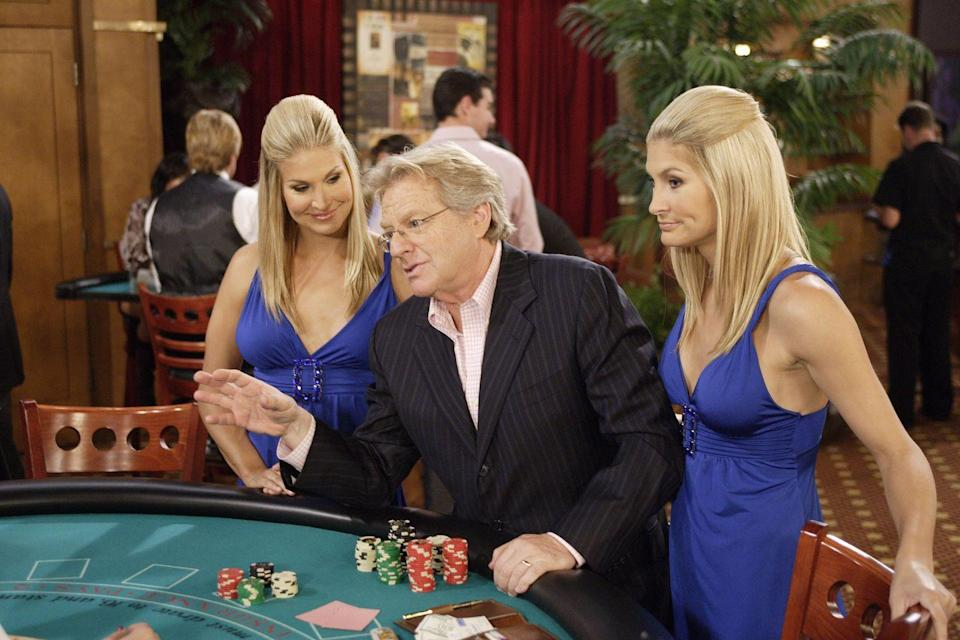 <p>The popular talk-show host once made an appearance on <em>Days of Our Lives</em>, where he played Pete, a Las Vegas high roller. After losing almost all of his money, Nick Fallon receives tutelage from Pete. Pete eventually helps Nick win $50,000 and helps him impress Chelsea Brady, too. </p>