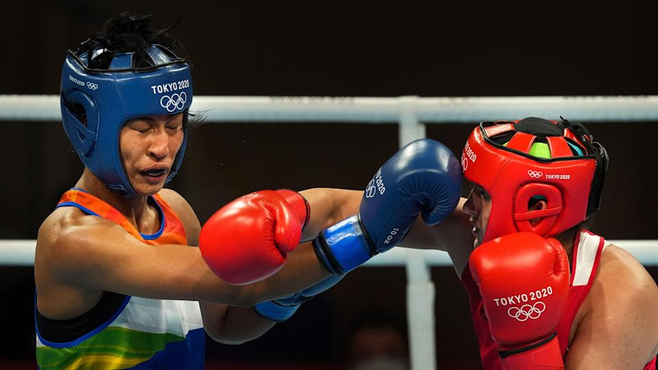 """<div class=""""paragraphs""""><p>Lovlina Borgohain lost her Tokyo Olympics semi-final and will now return home with a bronze.</p></div>"""
