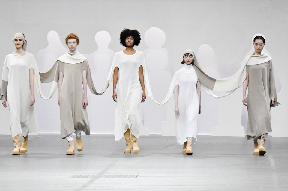 Issey Miyake. (Photo by Victor VIRGILE/Gamma-Rapho via Getty Images)