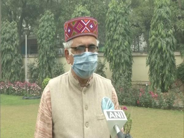 Dr Shekhar Mande, Director General of the Council of Scientific and Industrial Research in conversation with ANI. (Photo/ANI)