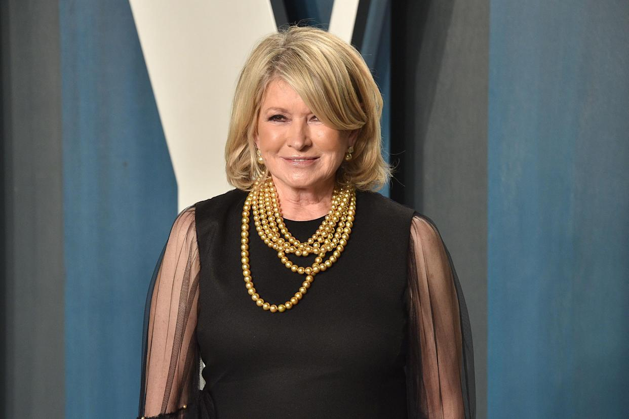Martha Stewart talks about her evolution from Wall Street to homemaker to CBD. (Photo: Getty Images)