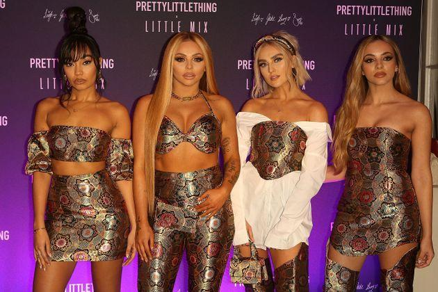 Jesy pictured with her Little Mix bandmates (Photo: David M. Benett via Getty Images)