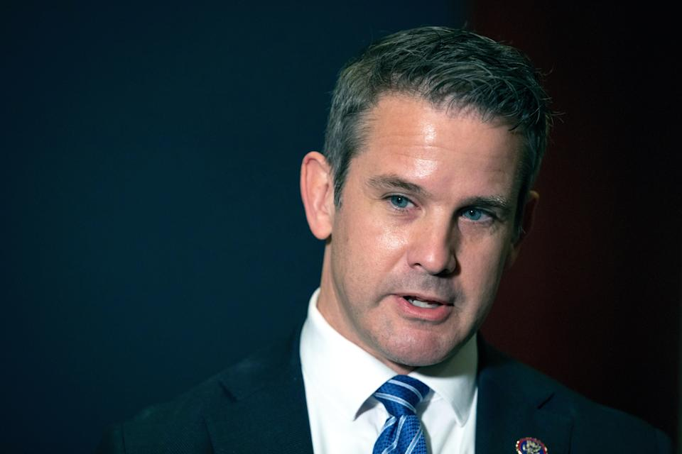Rep Adam Kinzinger, one of two Republicans on the Capitol riot committee (Copyright 2021 The Associated Press. All rights reserved)