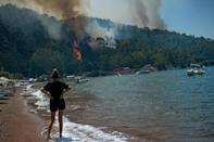 The government said it had contained 147 fires and was still fighting nine.