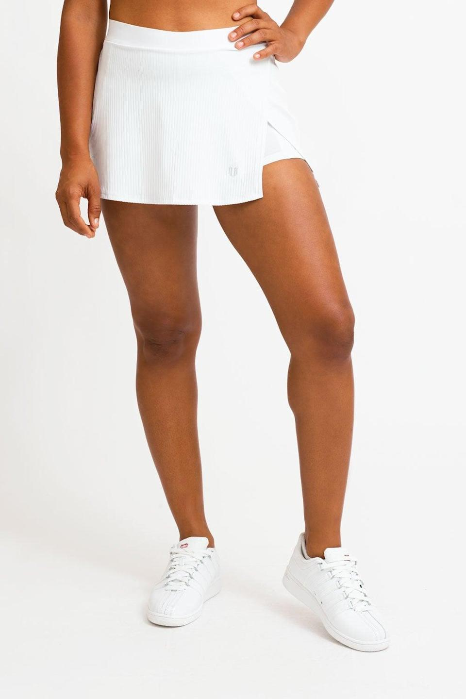 <p>You'll want to wear this <span>Eleven by Venus Williams Can't Stop Won't Stop Skirt</span> ($69) on repeat.</p>