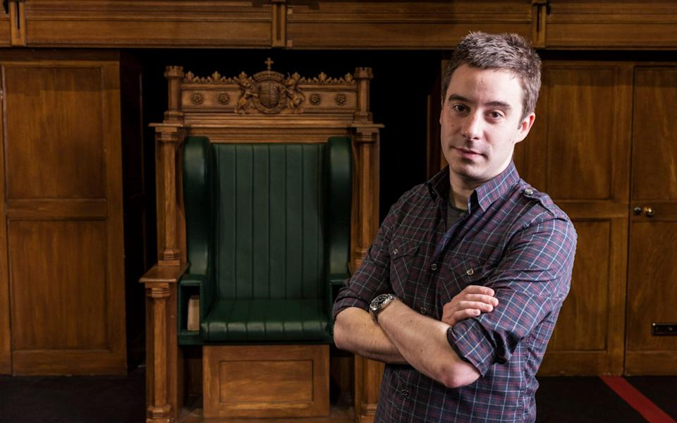 Playwright James Graham - Andrew Crowley