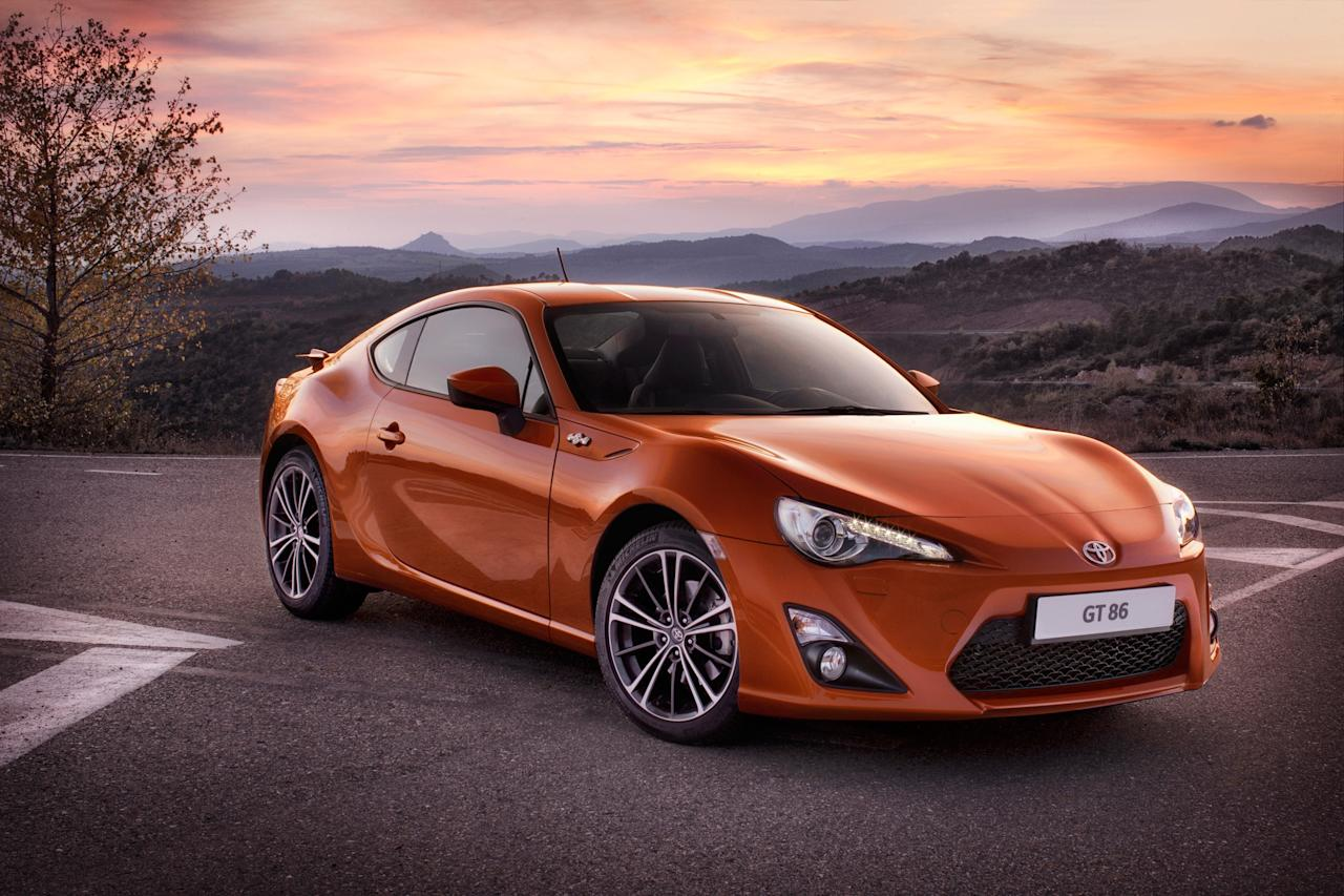 Toyota GT86: Proving lotsa money doesn't mean more fun when it comes to cars, my Car of the Year is Toyota's GT86 Coupe for £25,000. It's a real driver's car that you have to work hard to make the most of its limited (186bhp) power and narrow tyres means you can feel as the grip gives out. In these days of motorised sofas the GT86 is what real motoring is all about (Toyota)