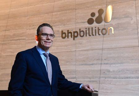 BHP's chairman says speculation of a set tenure for CEO is false
