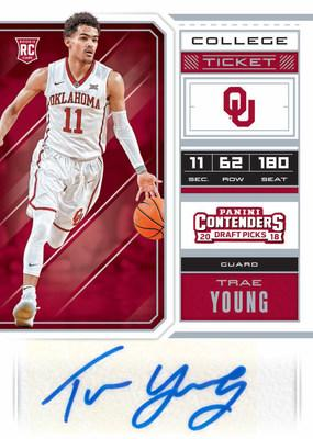646dc7718 Panini America inks exclusive autograph trading card and memorabilia deal  with projected Lottery pick Trae Young