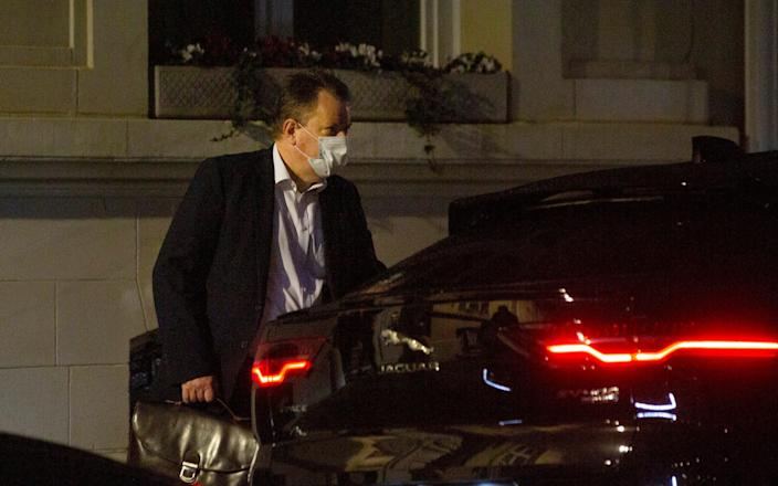 Lord Frost, Britain's chief negotiator, joined late talks on Wednesday night - AP