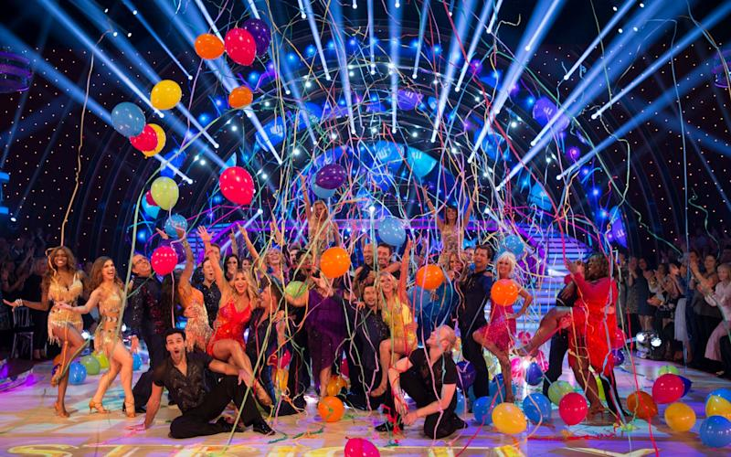 Strictly 2017: this year's contestants - WARNING: Use of this copyright image is subject to the terms of use of BBC Pictures' Digital Picture