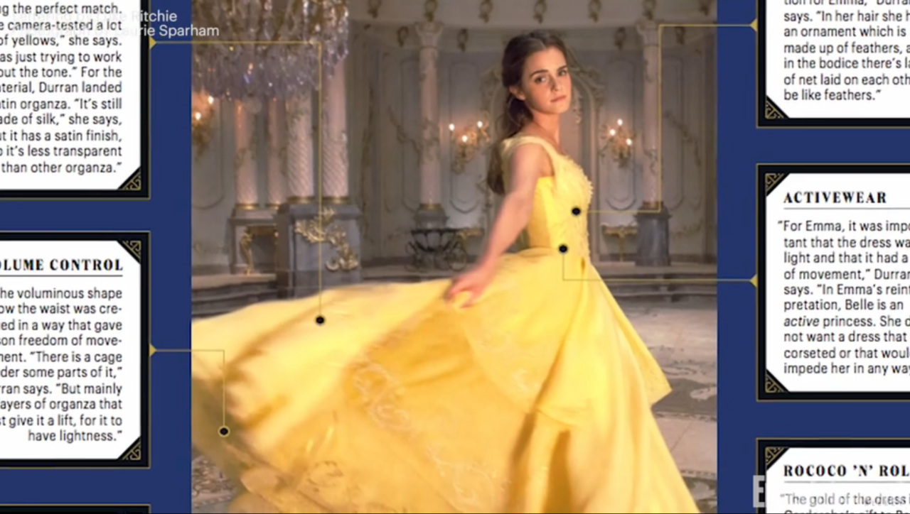 Live action Beauty and the Beast: EW shares host of magical new images