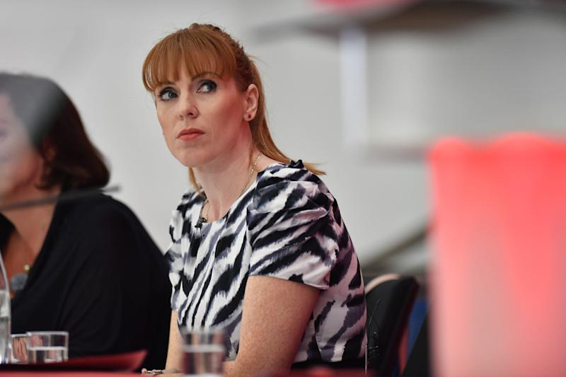 Shadow education secretary Angela Rayner is still regarded as a threat by the hard left. (Photo: PA Wire/PA Images)