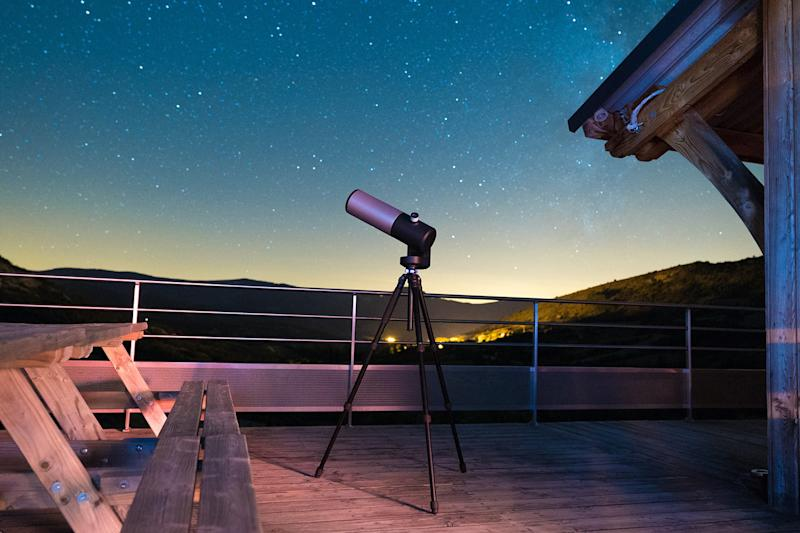 Want to see galaxies in full color from your backyard? Check out this telescope