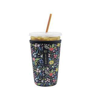 JavaSok™ cold sleeves not only retain ice so your beverage stays cold longer, but leaves you happy with dry hands, no mess, puddles or watermarks to worry about.   Plus, JavaSok™ fits nearly 85% of the cups from a variety of drink stores to pair with small, medium, and large containers – including Dunkin®, Starbucks®, and McCafé®.  Pictured: JavaSok™ English Garden Picnic - Large.