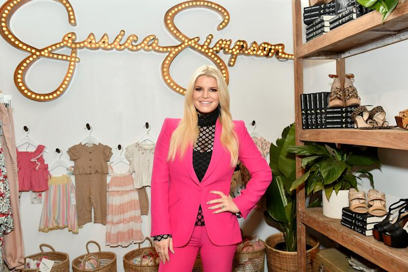 LOS ANGELES, CALIFORNIA - FEBRUARY 22: Jessica Simpson attends Create & Cultivate Los Angeles at Rolling Greens Los Angeles on February 22, 2020 in Los Angeles, California. (Photo by Amy Sussman/Getty Images)