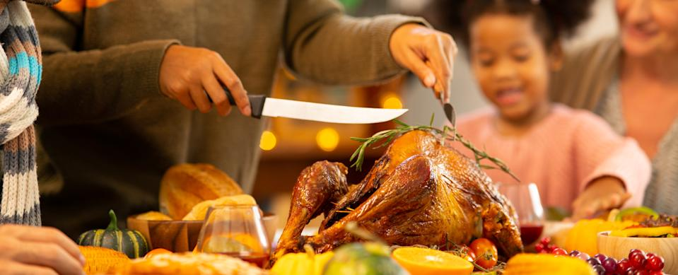 "Whole Foods and Progressive Insurance are teaming up to provide a ""turkey protection plan"" to help home chefs who commit bird-cooking blunders this Thanksgiving. (Photo: Getty)"