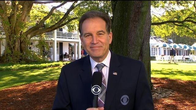 Jim Nantz wasn't where you thought he was for Tiger Woods' winning putt, reveals how historic Masters moment went down