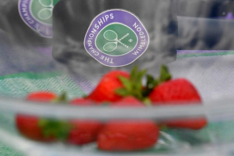 With Wimbledon Cancelled, All England Club Sends Strawberries to Covid Frontline Workers