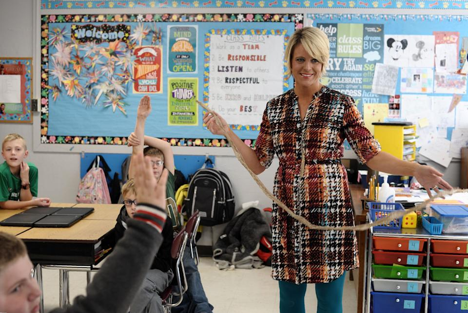 West Virginia elementary school teacher Amy Nichole Grady defeated state Senate President Mitch Carmichael in a GOP primary Tuesday night. (Photo: MICHAEL MATHES via Getty Images)