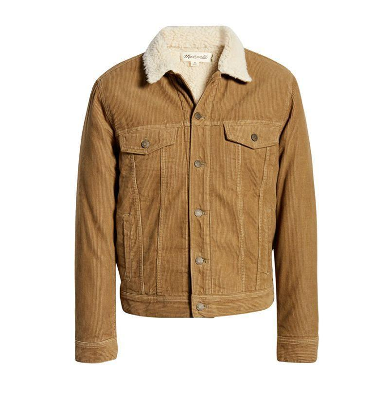 """<p><strong>Madewell</strong></p><p>nordstrom.com</p><p><strong>$111.00</strong></p><p><a href=""""https://go.redirectingat.com?id=74968X1596630&url=https%3A%2F%2Fwww.nordstrom.com%2Fs%2Fmadewell-corduroy-fleece-jacket%2F5735115%3Forigin%3Dcategory-personalizedsort%26breadcrumb%3DHome%252FSale%252FMen%252FClothing%252FCoats%2B%2526%2BJackets%26color%3Dashen%2Bbirch&sref=https%3A%2F%2Fwww.esquire.com%2Fstyle%2Fmens-fashion%2Fg35142070%2Fbest-online-fashion-sales-right-now%2F"""" rel=""""nofollow noopener"""" target=""""_blank"""" data-ylk=""""slk:Buy"""" class=""""link rapid-noclick-resp"""">Buy</a></p>"""