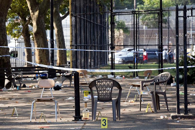 1 Killed and 11 Injured After Gunman Opens Fire at Brooklyn Block Party